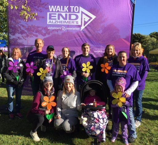 Walk to End Alzheimer's with Azura Memory Care